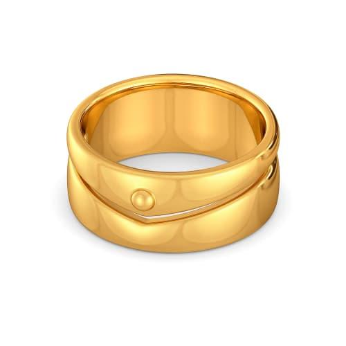 Safari Sleek Gold Rings