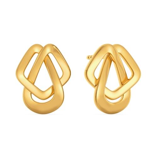 Bermuda Vibes Gold Earrings