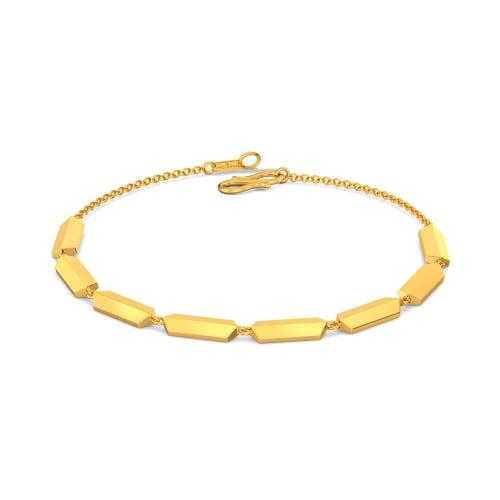 Pucker Up Gold Bracelets
