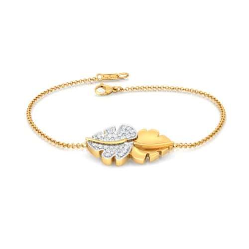 Frond 2 Flaunt Diamond Bracelets