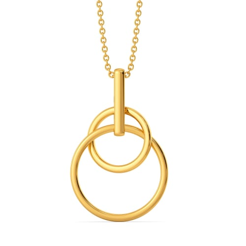 Thrill O Reveal Gold Pendants