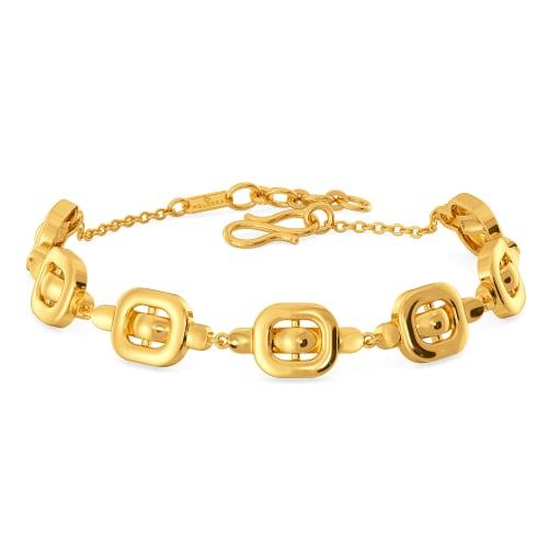 Clasp Control Gold Bracelets