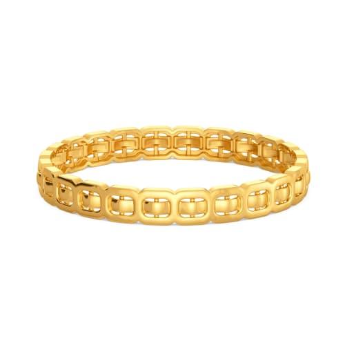 Clasp Control Gold Bangles