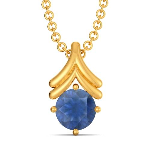 Blue Avenues Gemstone Pendants