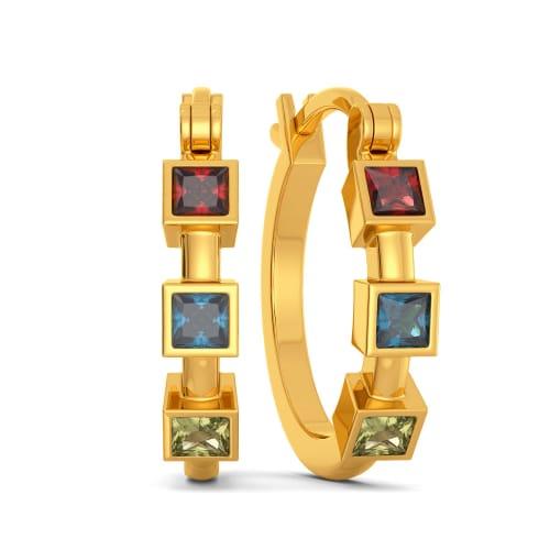 Bold N Bright Gemstone Earrings
