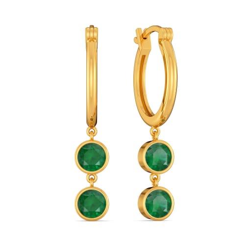 Moss A Miss Gemstone Earrings