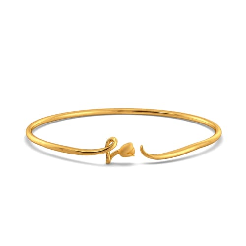 Twirl Vines Gold Bangles
