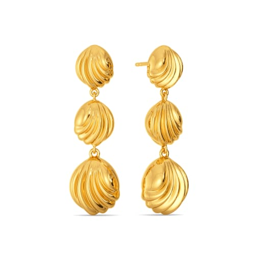 Banter O Balloon Gold Earrings