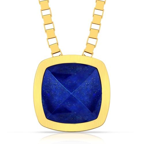 Midnight Blue Gemstone Pendants