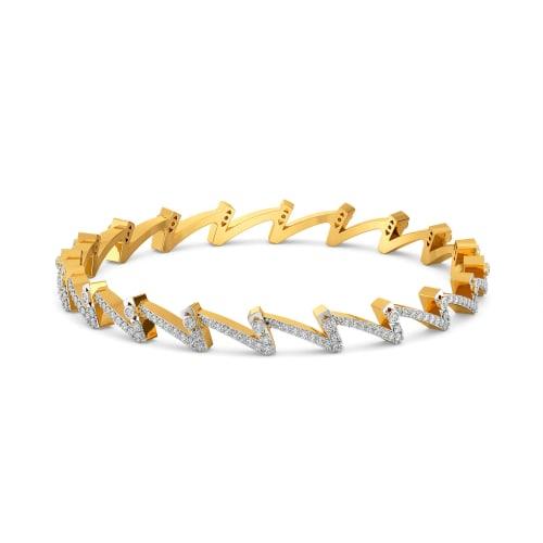 Upbeat Basics Diamond Bangles