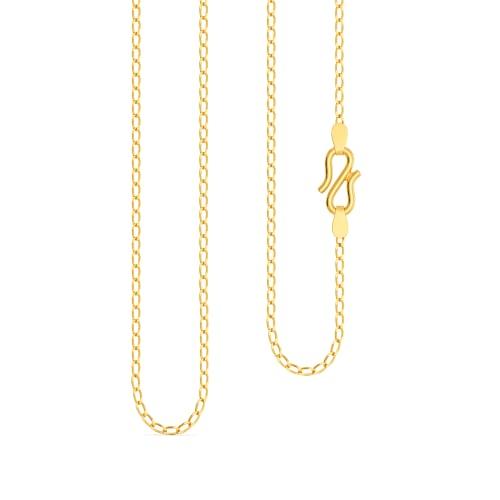 22kt Curb Chain Gold Chains