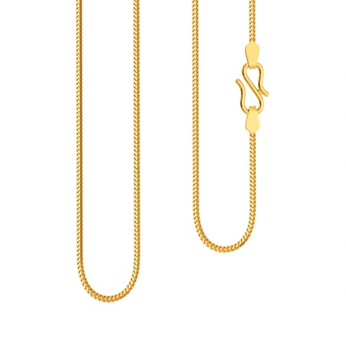 22kt Foxtail Chain Gold Chains