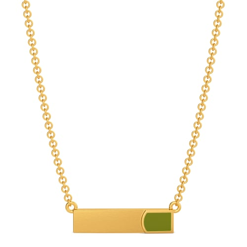 Khaki Comrades Gold Necklaces