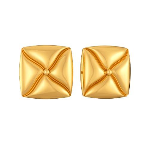 Mood O Comfy Gold Earrings