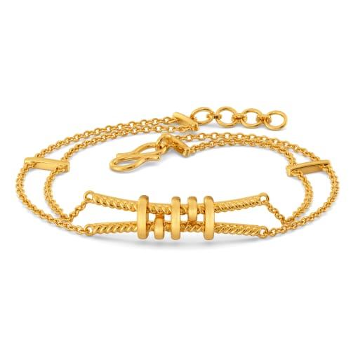 Tug A Tote Gold Bracelets