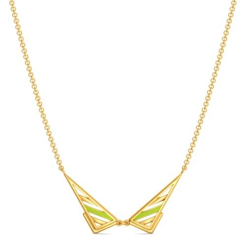 Neon Nostalgia Gold Necklaces