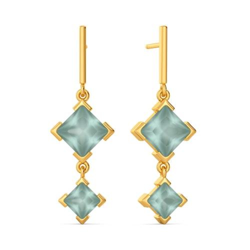 Shades O' Sea Gemstone Earrings