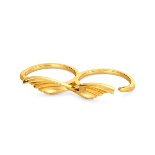 Pleats on Fleek Gold Rings