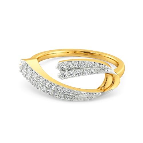 Crisp Crease Diamond Rings