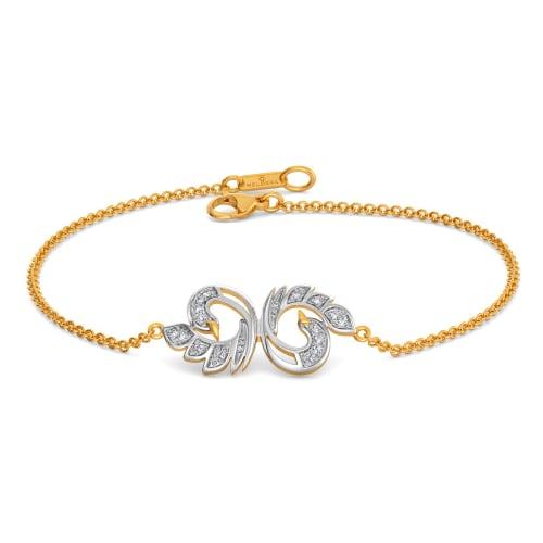 White Soiree Diamond Bracelets