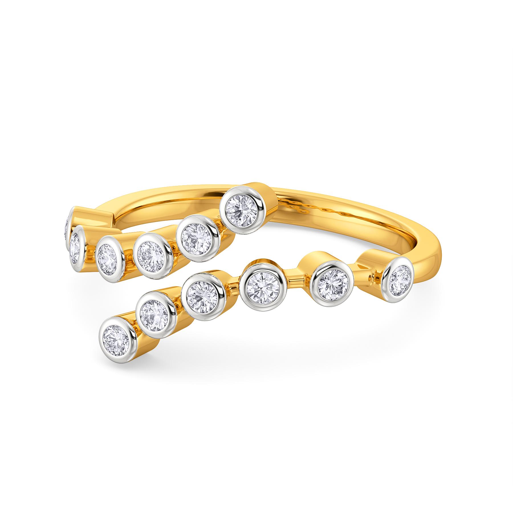 Wide N Comfy Diamond Rings
