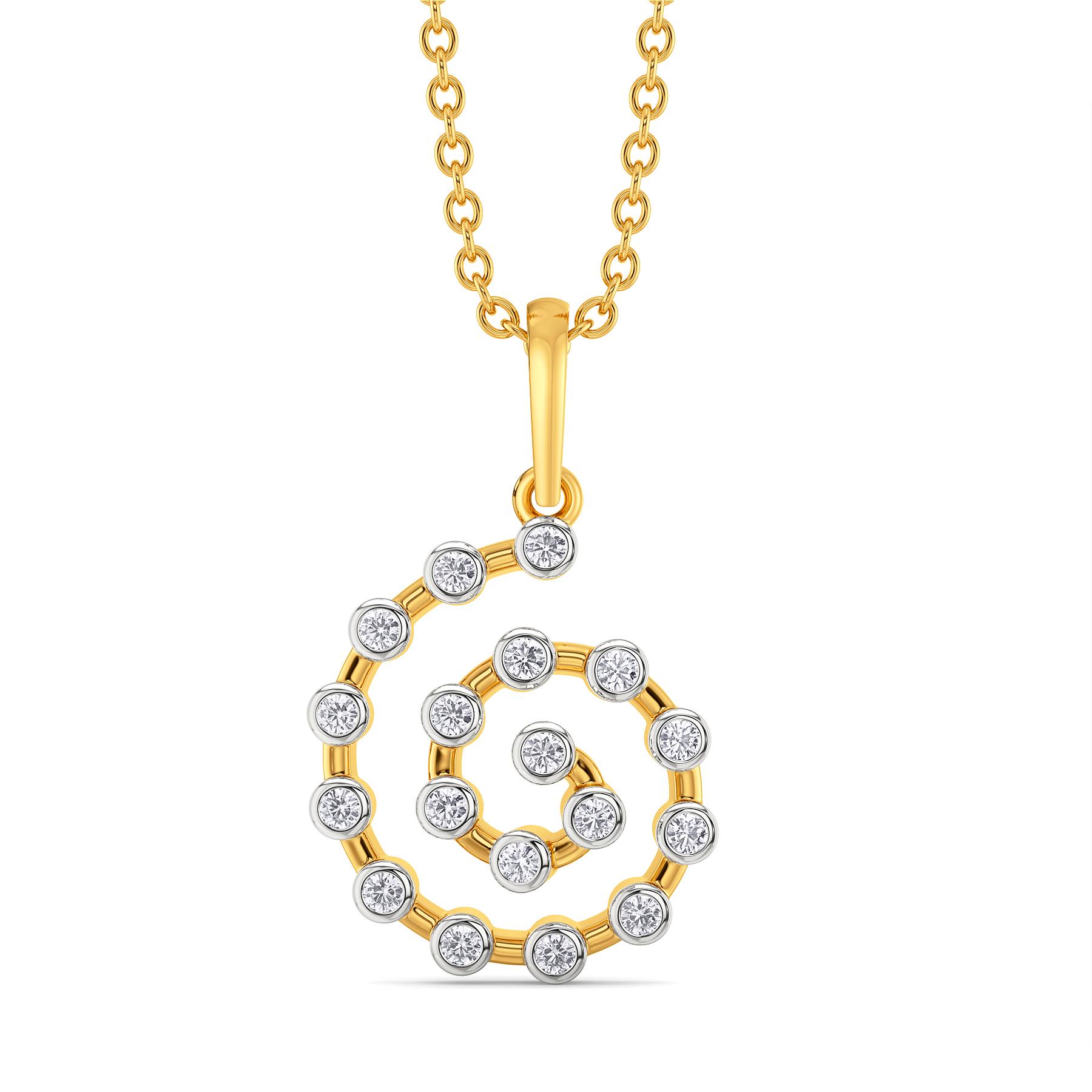 Hip N Casual Diamond Pendants