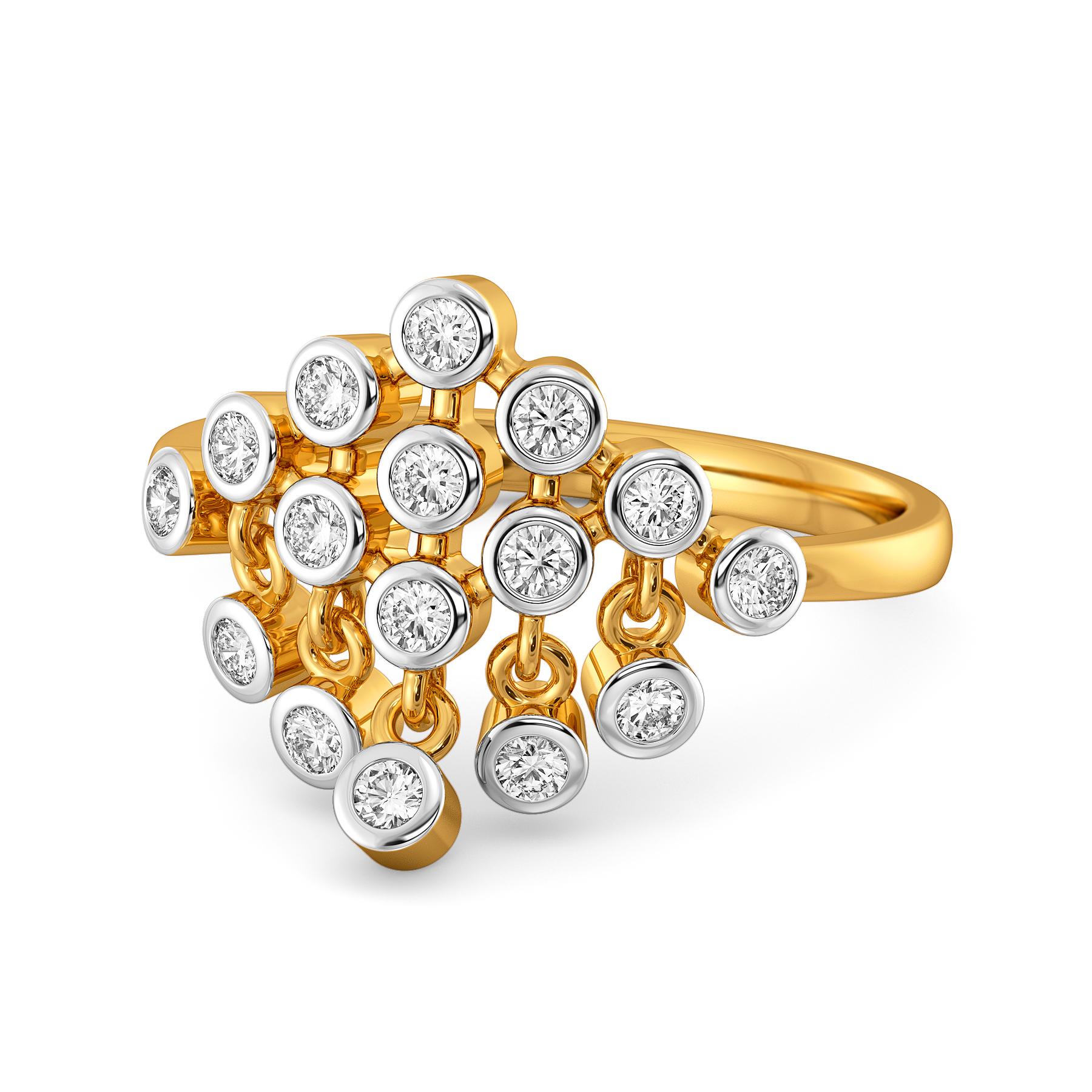 Donna Dapper Diamond Rings