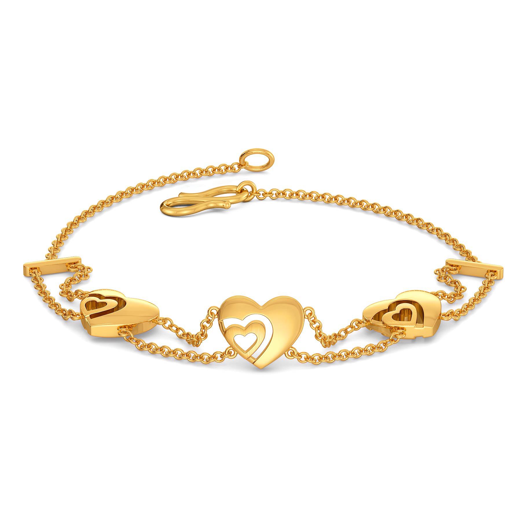 Poised Paramour Gold Bracelets