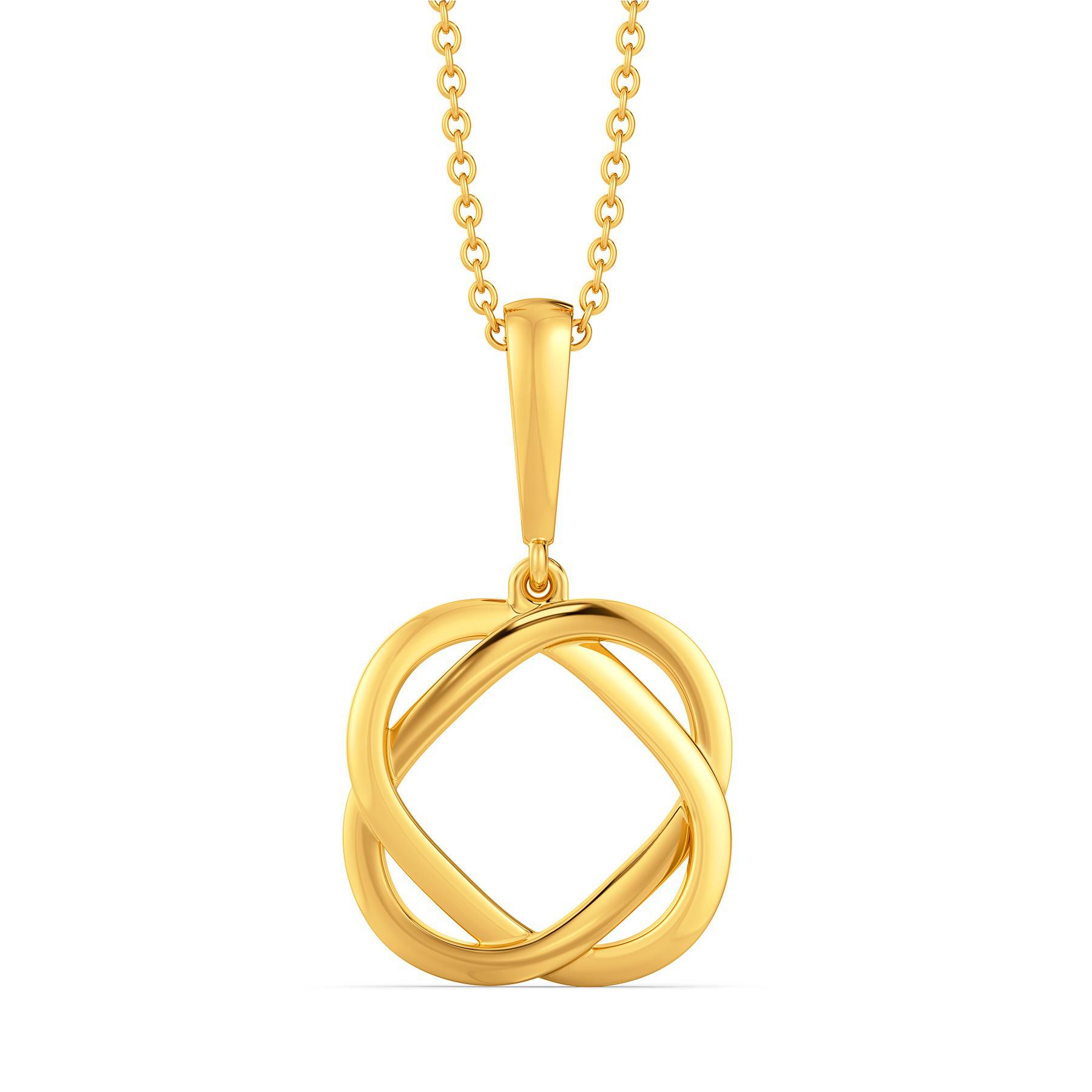 Bare to Bae Gold Pendants