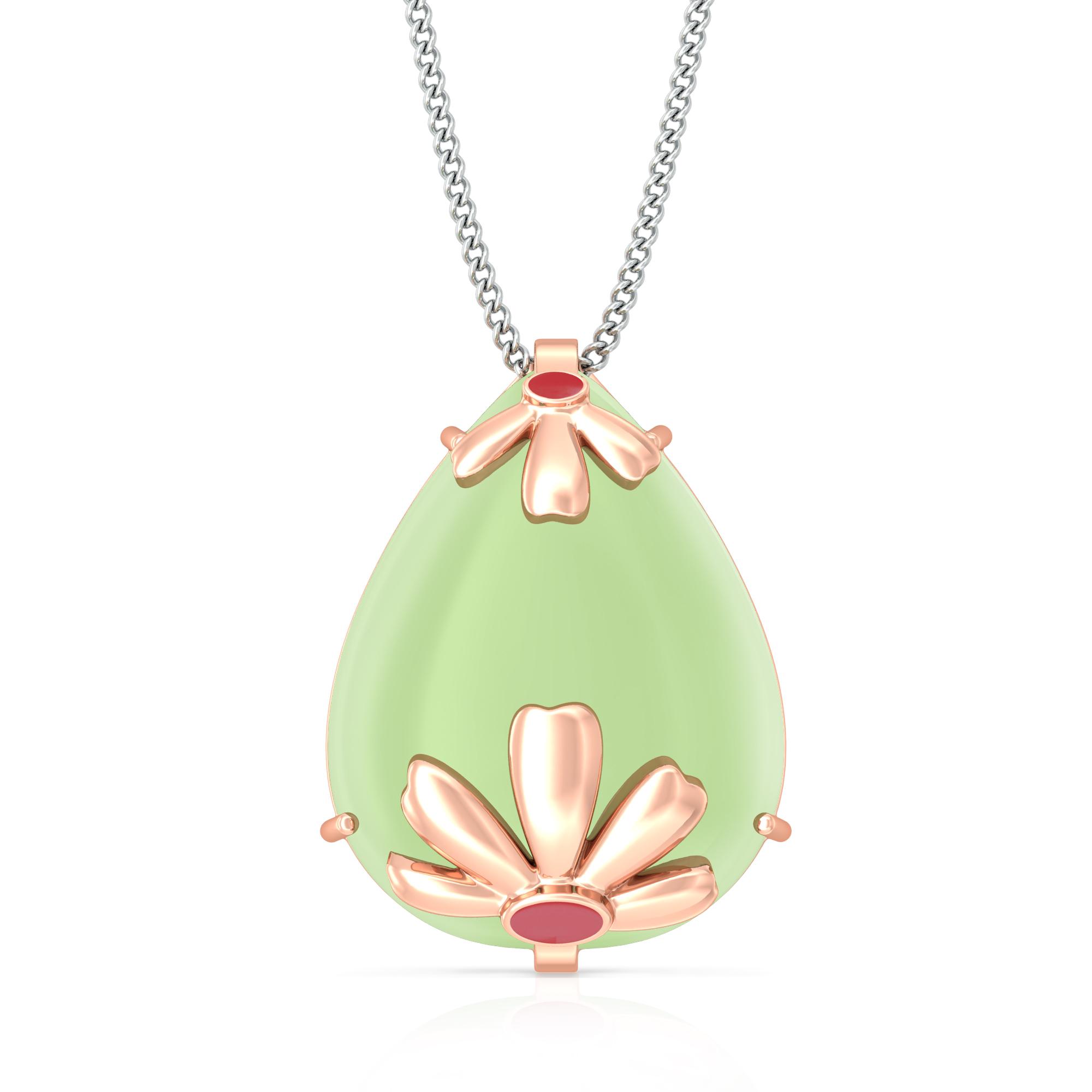 Blossom Lush Gemstone Pendants