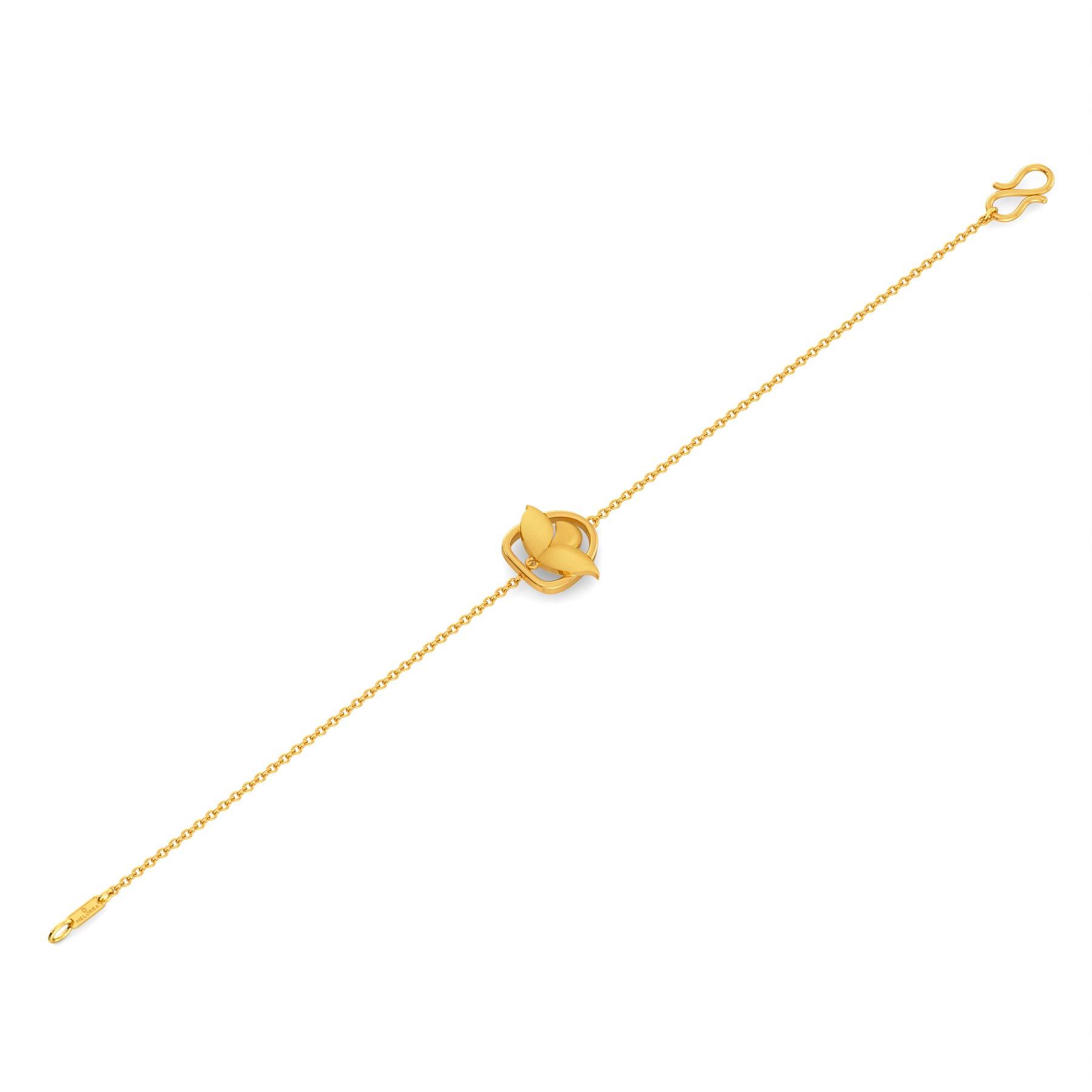 Shy Lily Gold Bracelets