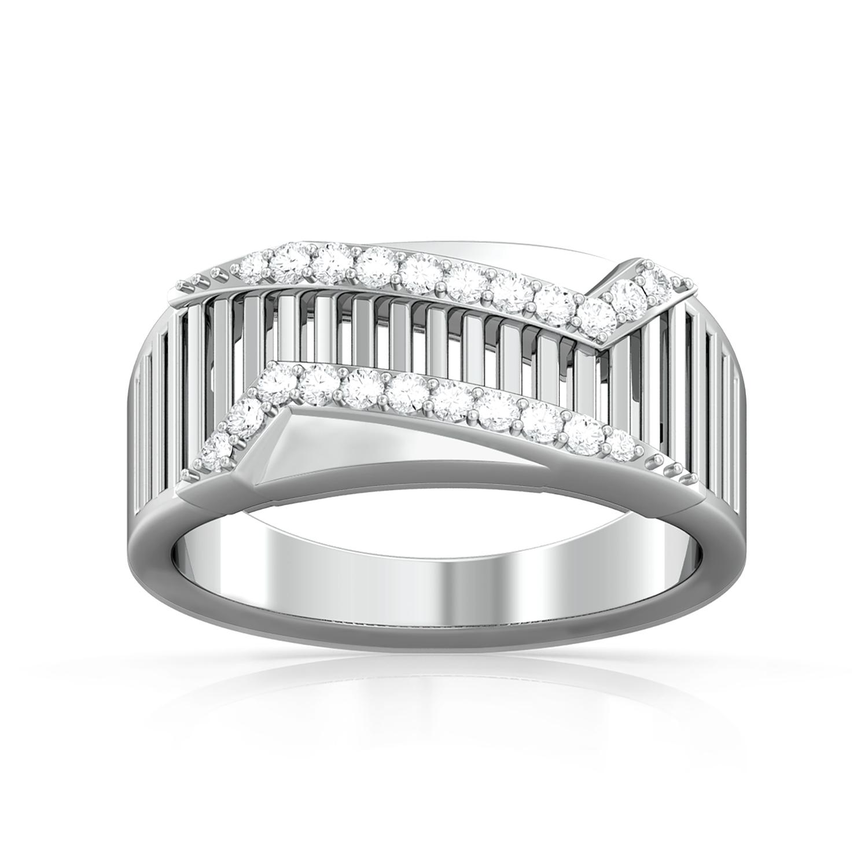Cloaked Runway Diamond Rings