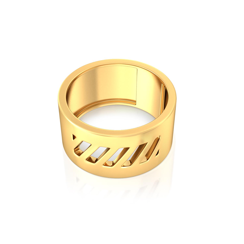 Bridge the Gap Gold Rings