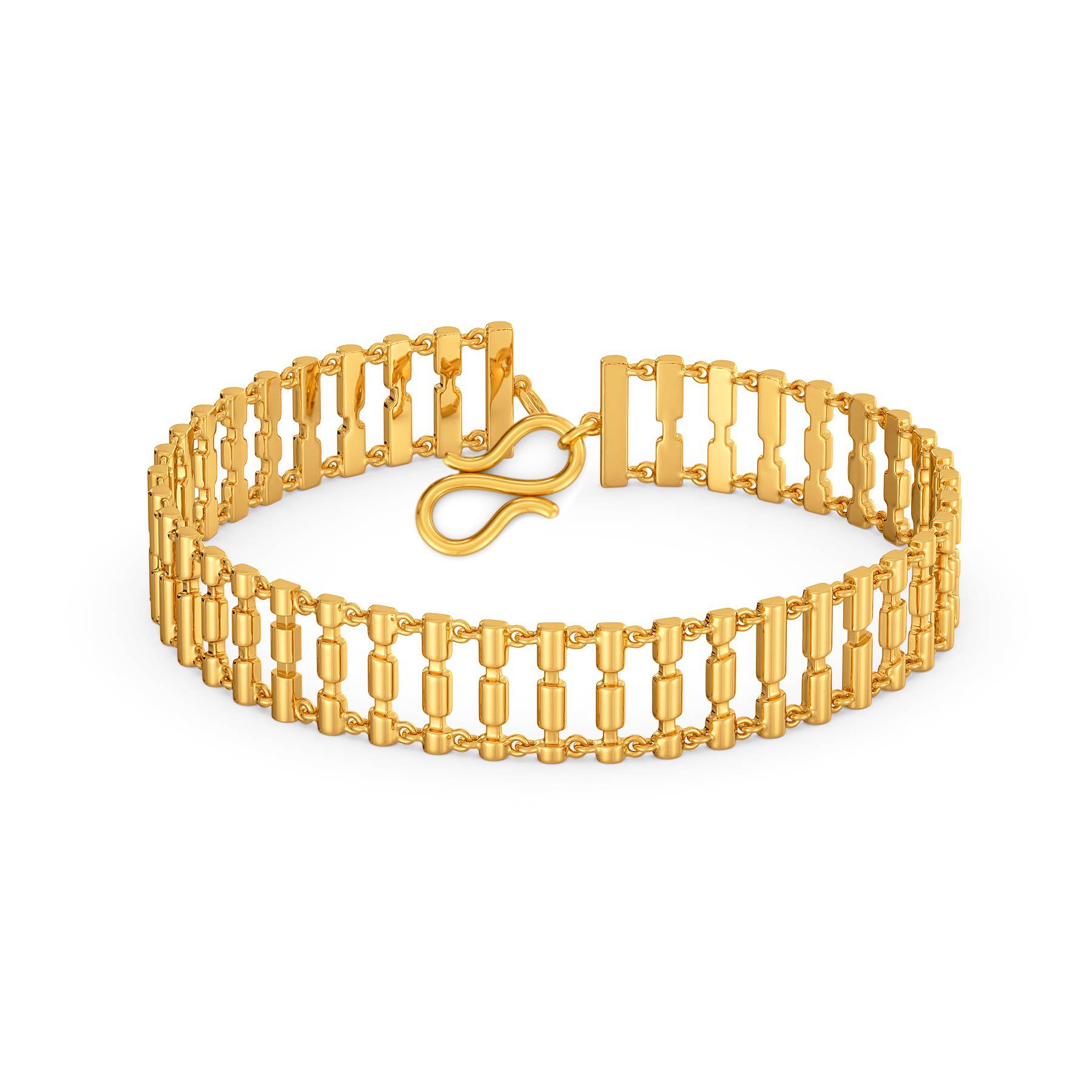 Funky Disco Gold Bracelets