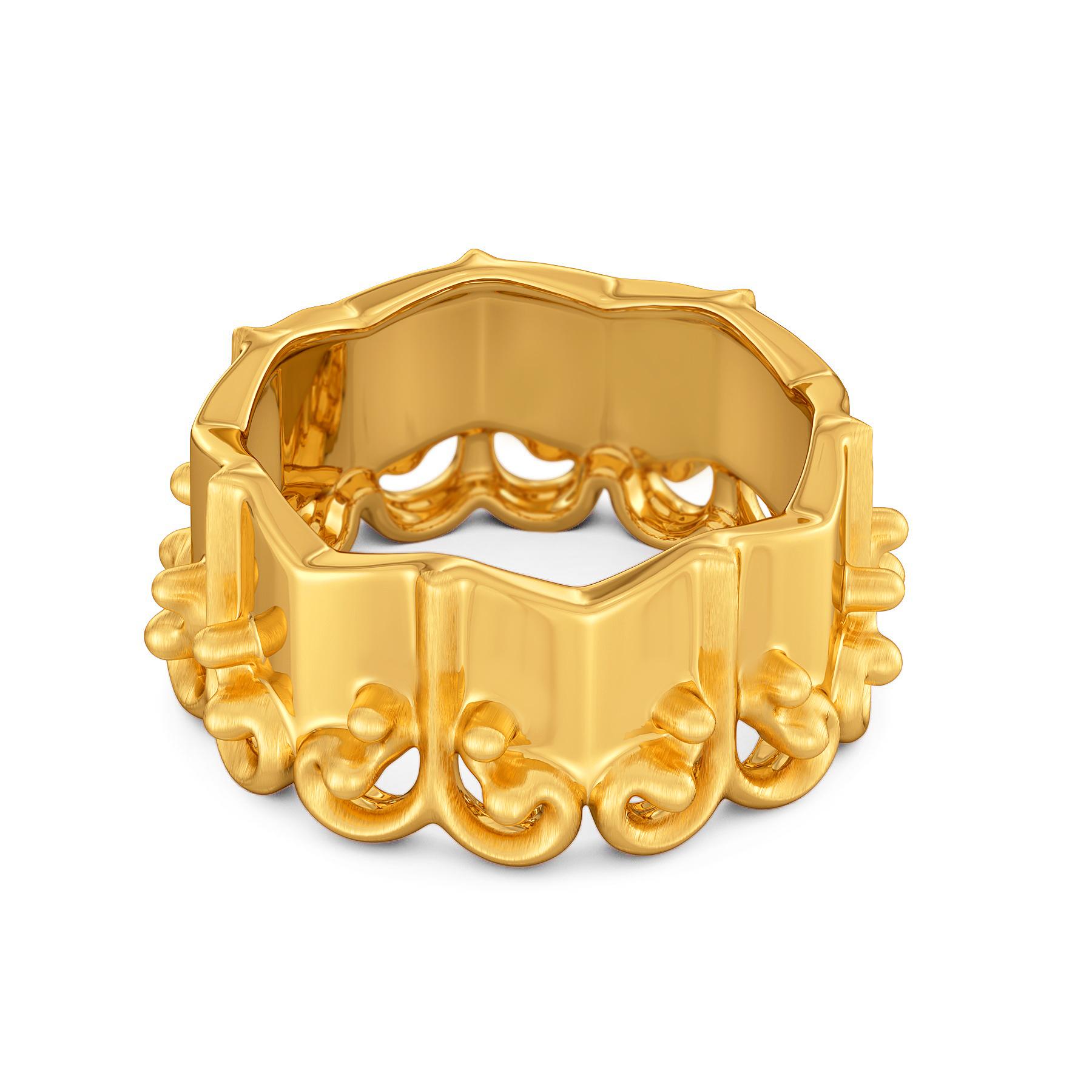 Doll Dearest Gold Rings
