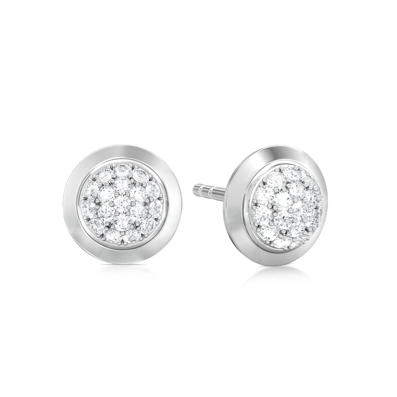 Infinitize  Diamond Earrings