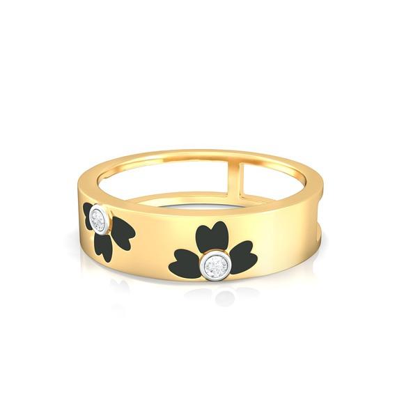 Coloroma Diamond Rings