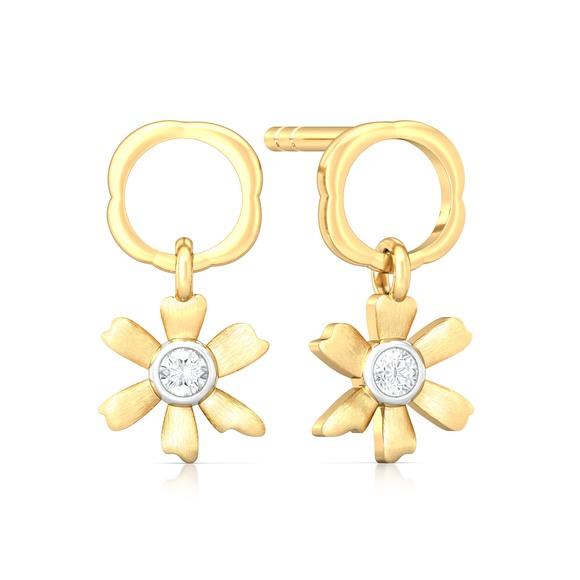 Spring promise Diamond Earrings