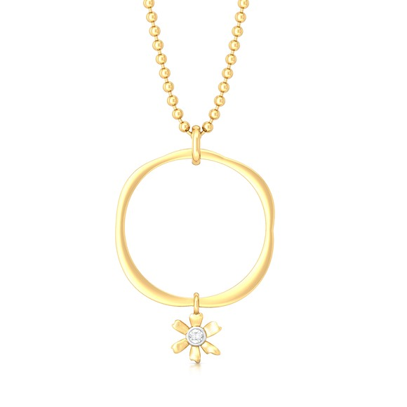 Spring promise Diamond Pendants