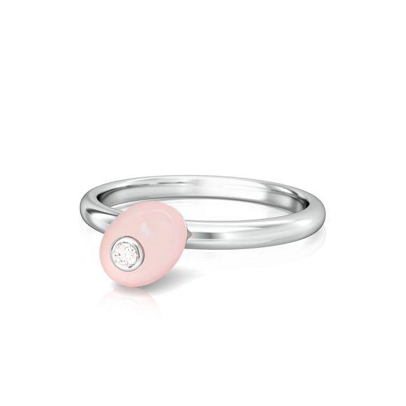 Candy Floss Diamond Rings