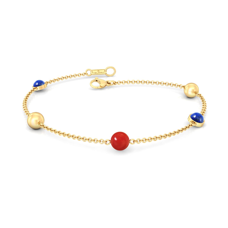 Nautical Colours Gemstone Bracelets