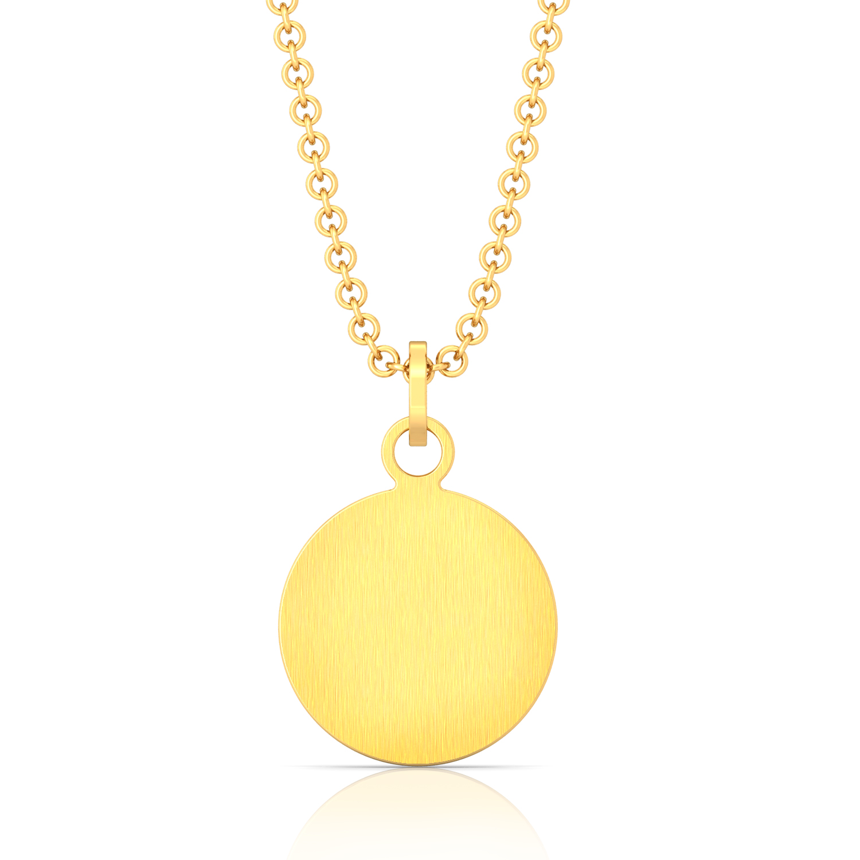 Golden notes Gold Pendants