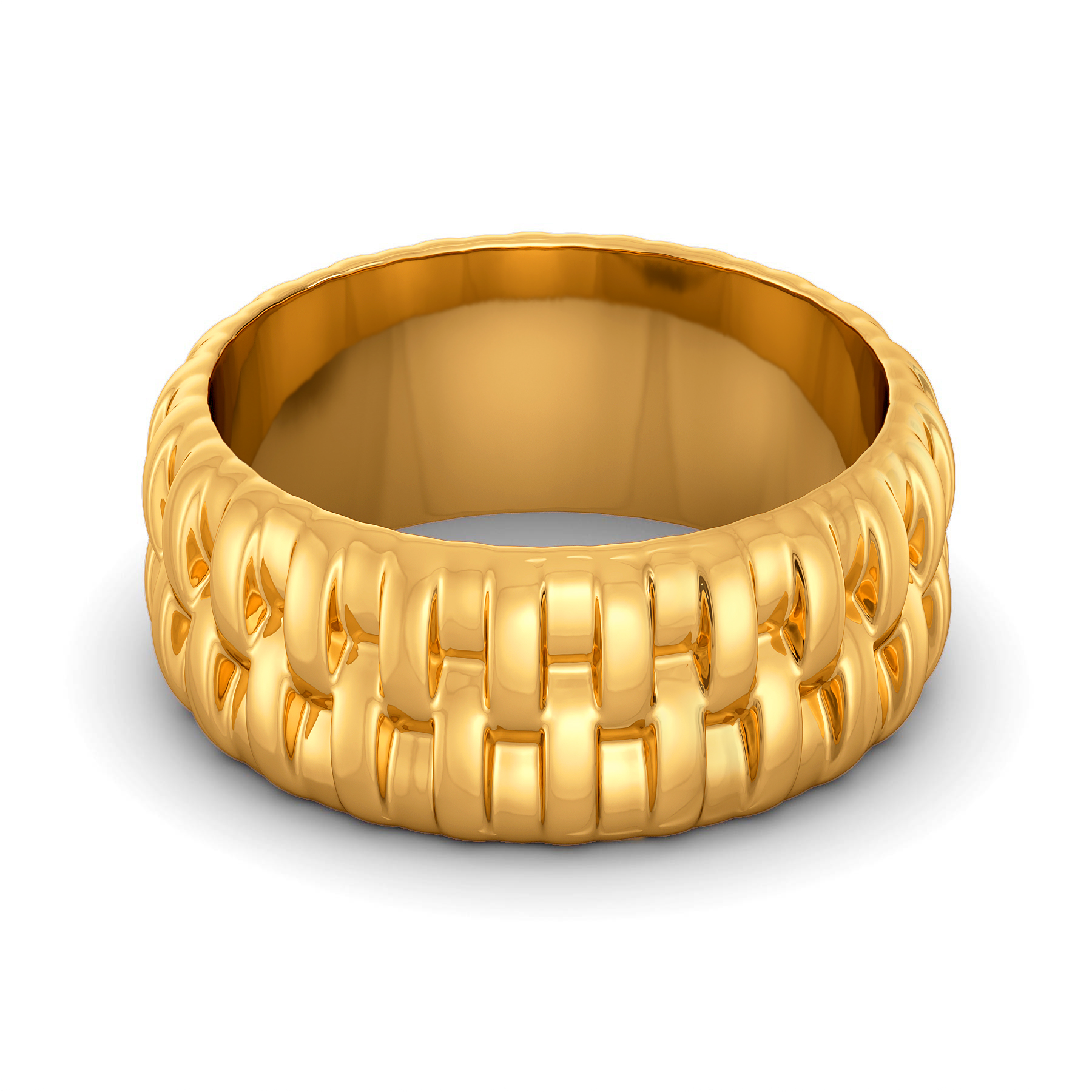 Weave Vision Gold Rings