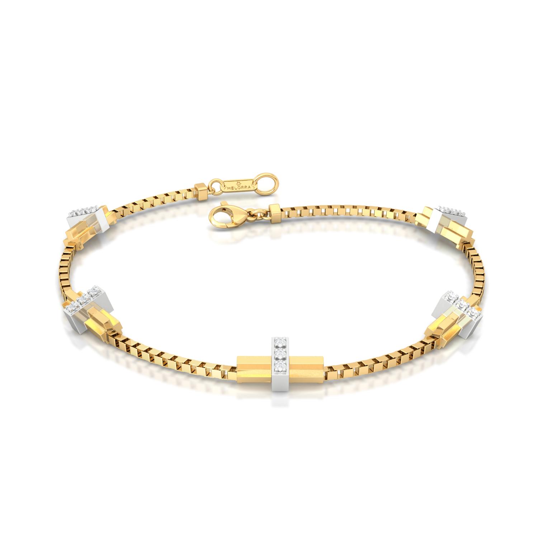 Pleat Me Pretty Diamond Bracelets
