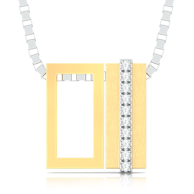 Jazz Bars Diamond Pendants