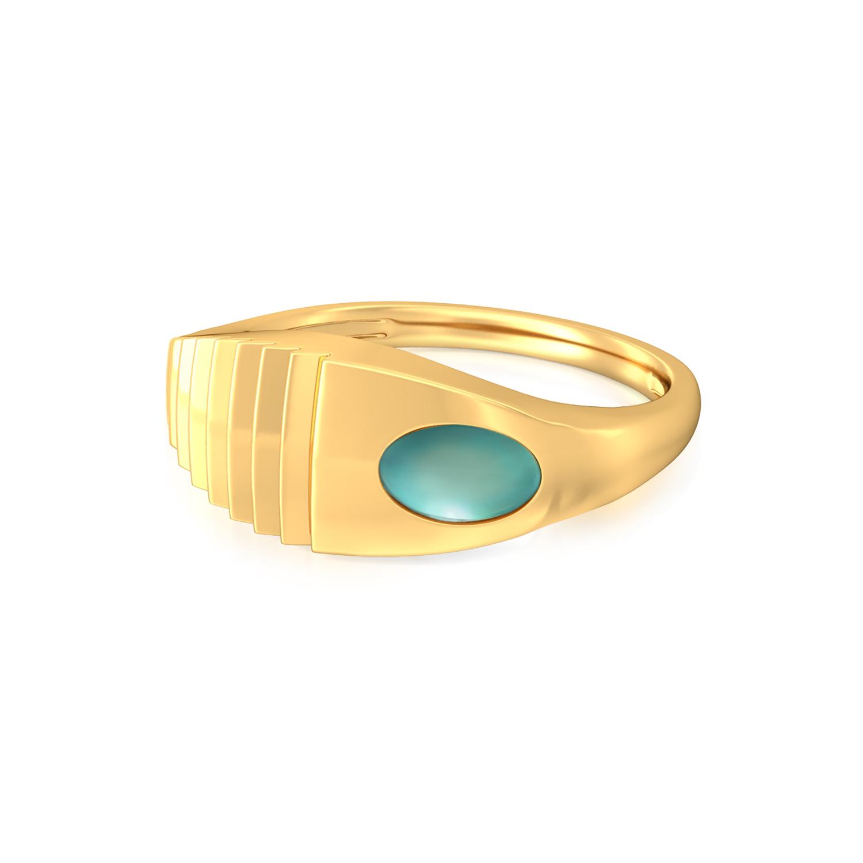 Skylight Gold Rings