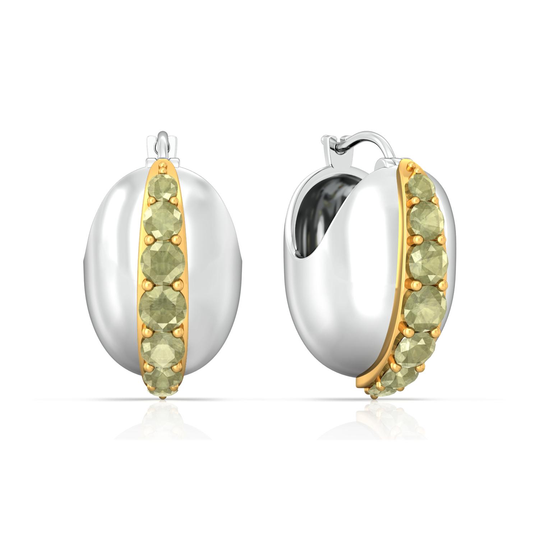 Dash of Lime Gemstone Earrings