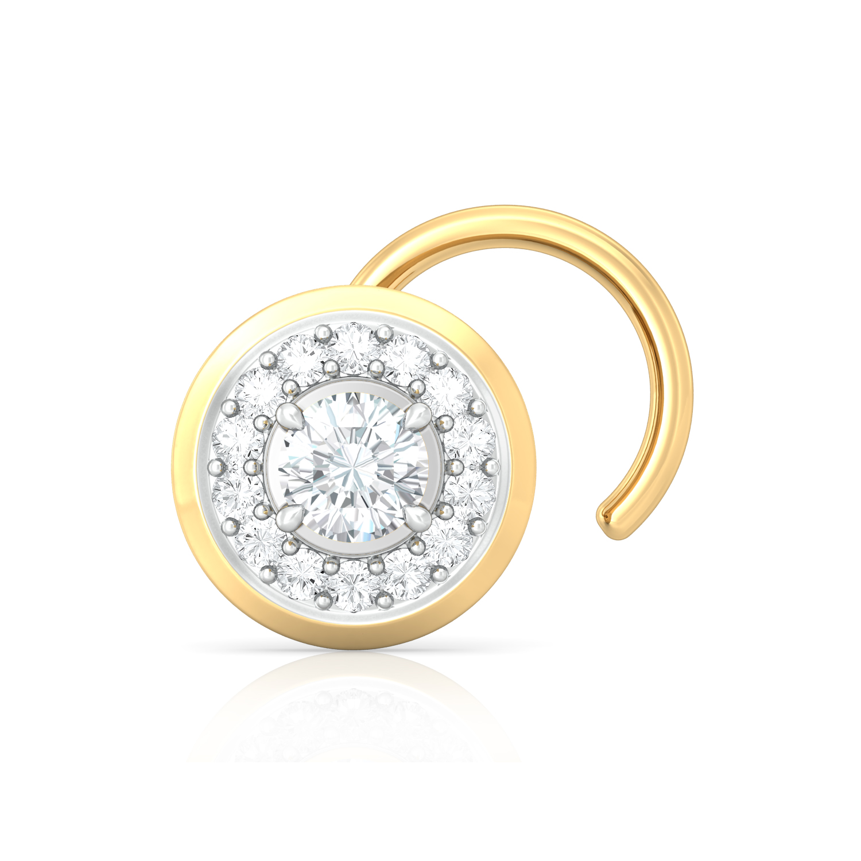 L'Amour Diamond Nose Pins