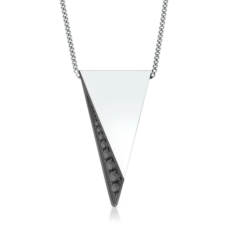 Arrowhead  Diamond Pendants