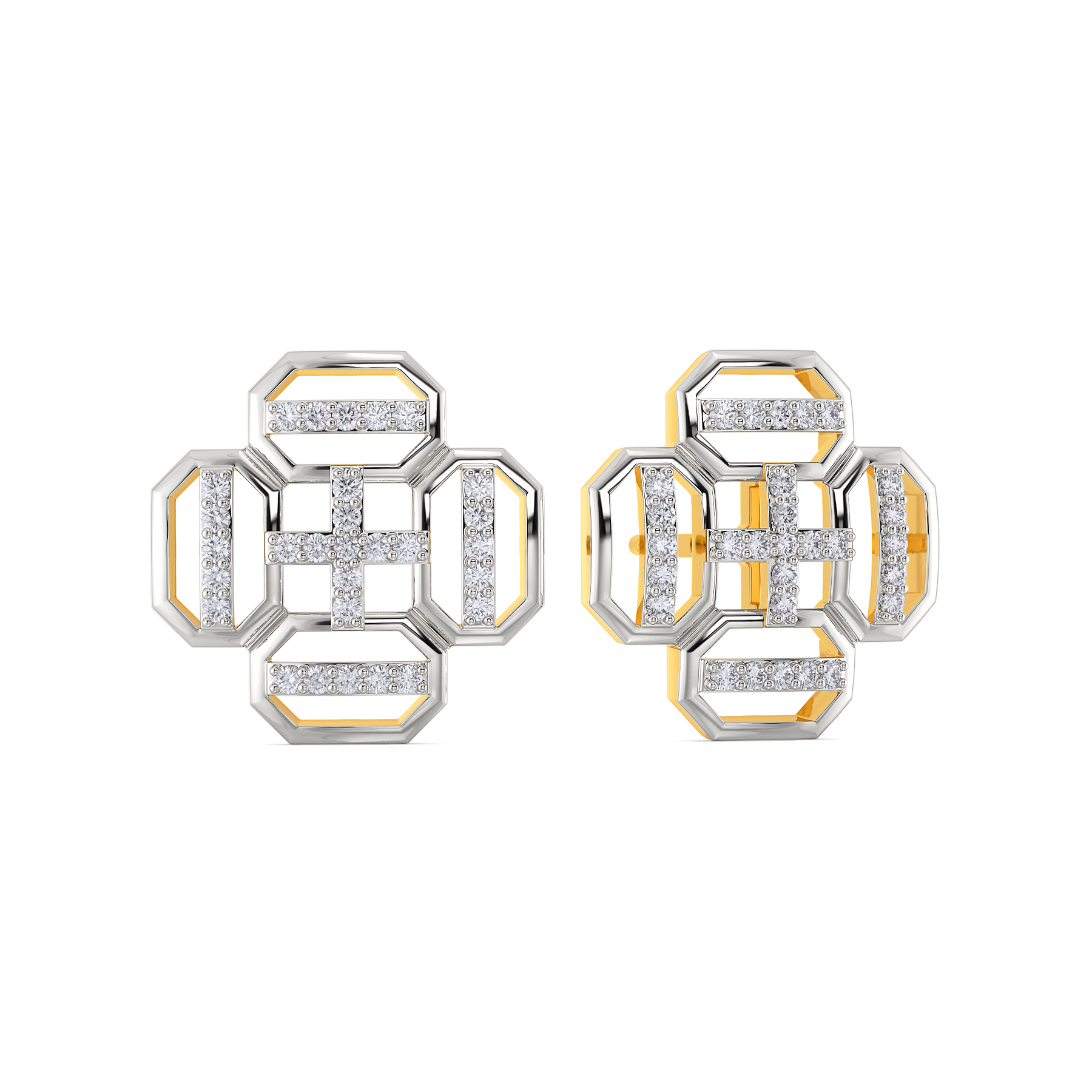 The Carryall Diamond Earrings